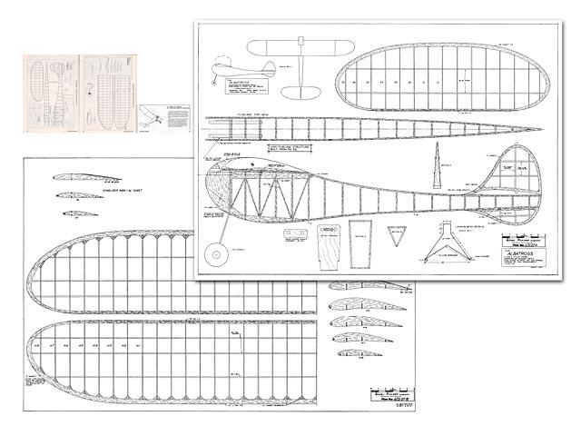 Albatross (oz4744) by George Reich from Model Builder 1973