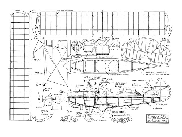 Travel Air 2000 - plan thumbnail image