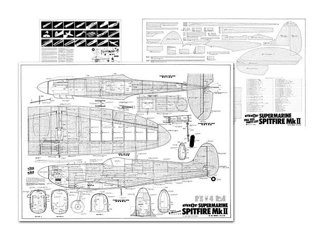 Supermarine Spitfire MkII - plan thumbnail image