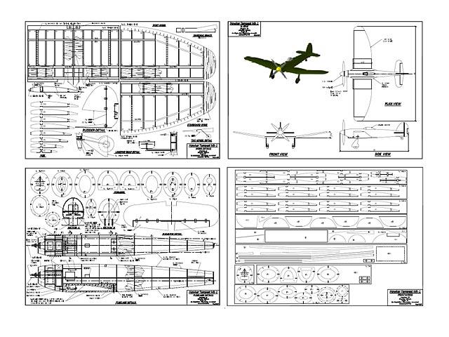 Hawker Tempest MkI - plan thumbnail image