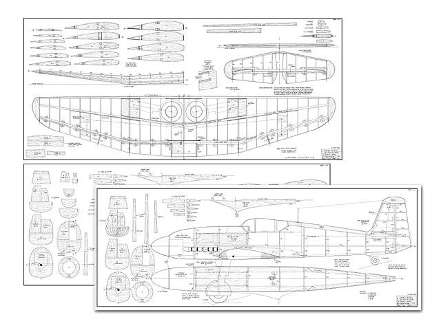 Heinkel He 100D-1 (oz4916) by Dennis L Wann 1994