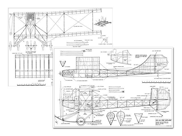 AV Roe 1911 Biplane (oz4976) by Frank Noll