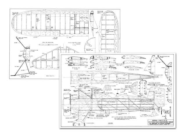 Boeing F4B-2  - plan thumbnail image