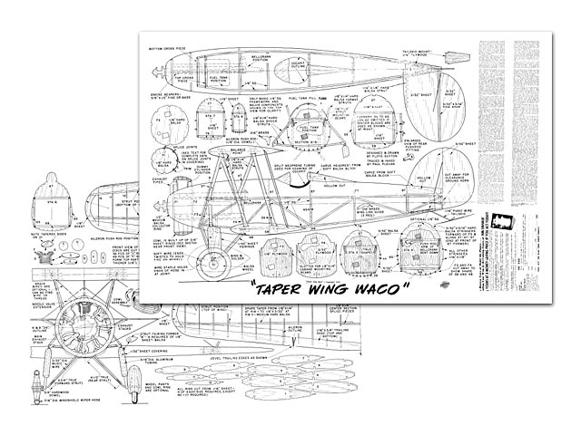 Waco Taperwing - plan thumbnail image