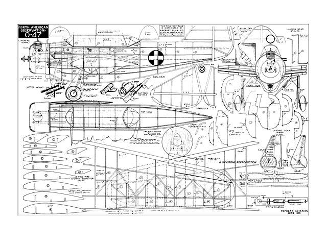 North American O-47 - plan thumbnail image