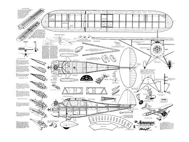 Monocoupe - plan thumbnail image