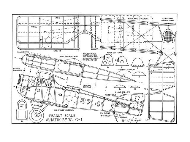 Aviatik Berg C-1 - plan thumbnail image