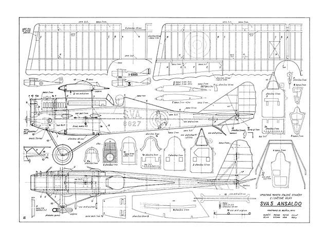 Ansaldo SVA 5 - plan thumbnail image