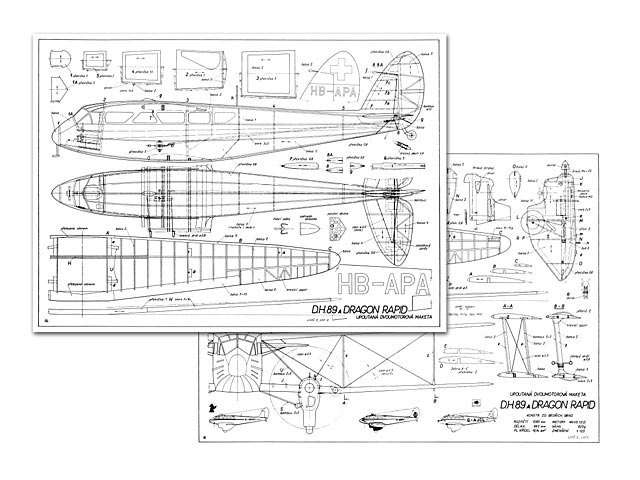 dh 89a dragon rapide plan free download outerzone