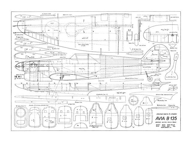 Avia B-135 (oz5156) by Jaroslav Fara from Modelar