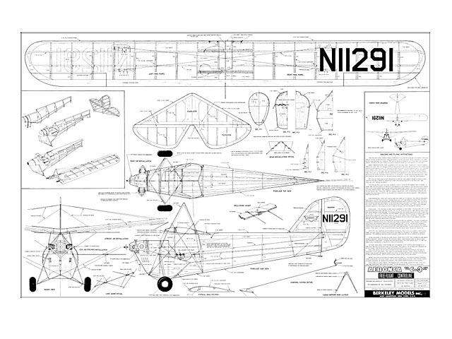 Aeronca C-3 - plan thumbnail image