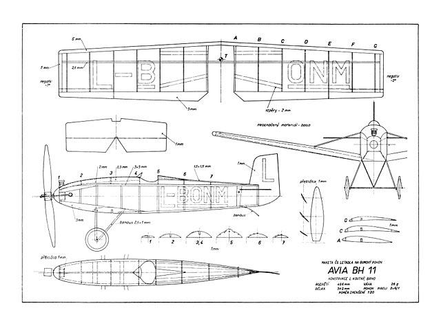 Avia BH 11 (oz5167) by Lubomir Koutny from Modelar
