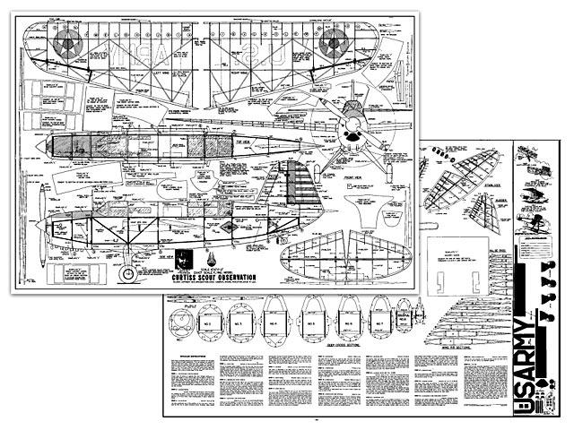 Curtiss Scout - plan thumbnail image