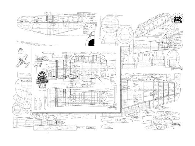 Dauntless SBD-5  (oz5185) by HL Hall
