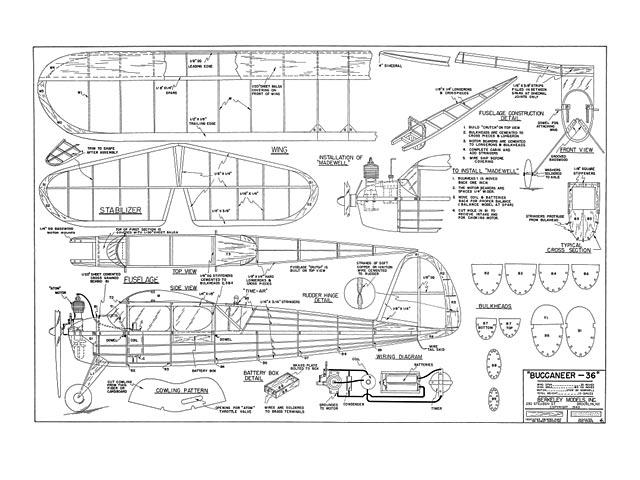 Buccaneer 36 - plan thumbnail image