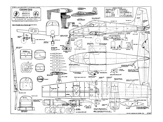 Cessna 310 Plan Free Download Outerzone