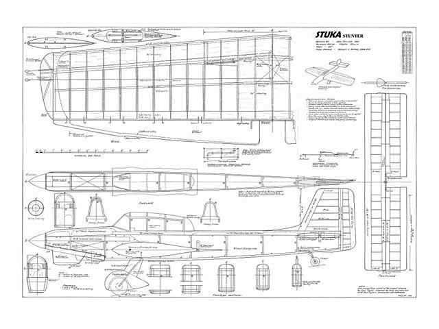 Stuka Stunter (oz5456) by Ken Taylor 1961