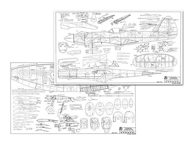 Spitfire F22/F24 - plan thumbnail image
