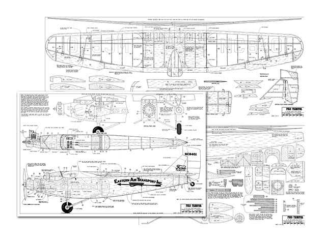 Ford Trimotor - plan thumbnail image