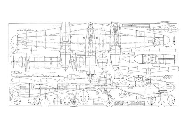 Lockheed P-38J Lightning (oz5573) by Jack Lynn Bale 1994