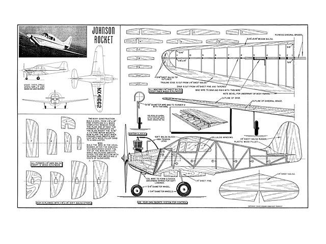 Johnson Rocket (oz5600) from Modern Hobbycraft 1946