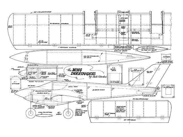 Wing Derringer - plan thumbnail image