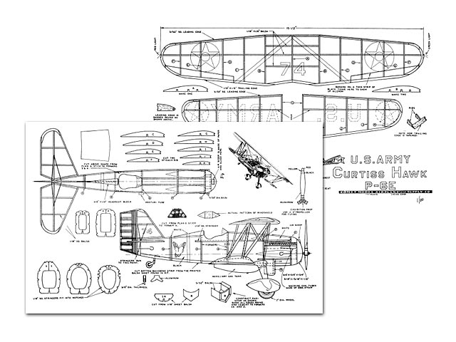 Curtiss Hawk - plan thumbnail image