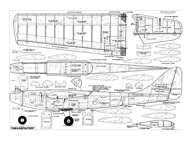 Devastator (oz5721) by Gene Rogers from Falcon Models 1968