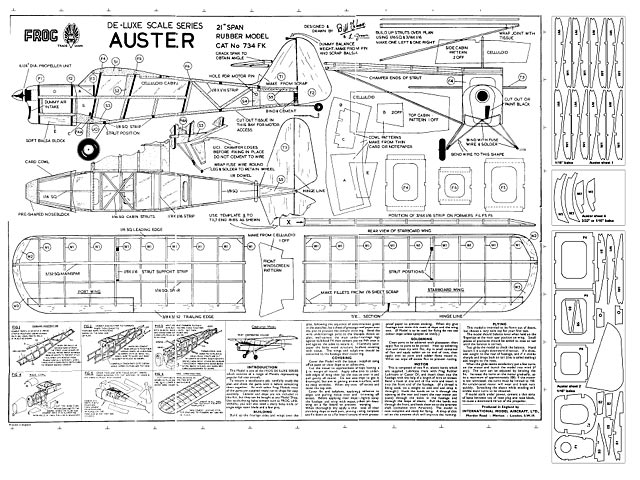 Auster (oz577) by Bill Knox from Frog 1961