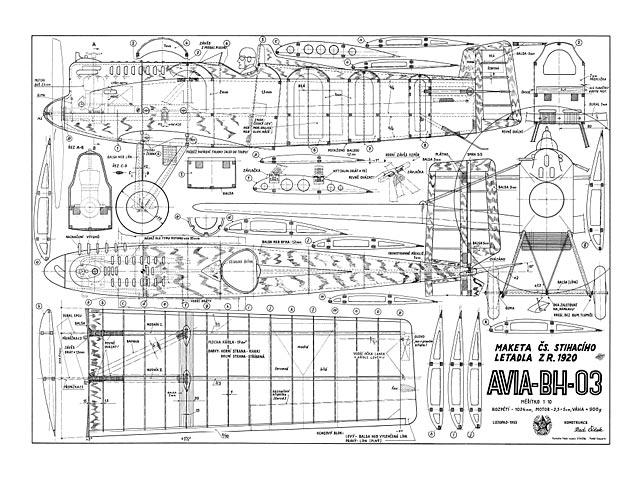 Avia BH-03 (oz5777) by Radoslav Cizek 1955