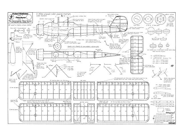 Vickers Vildebeest - plan thumbnail image