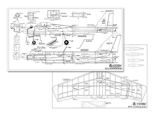f-15 eagle plan - free download