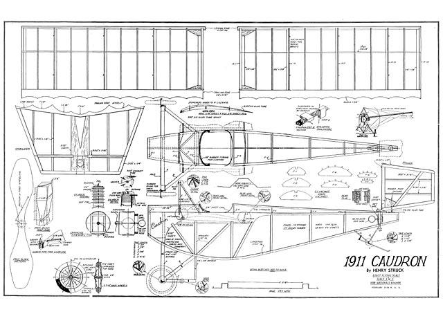 1911 Caudron - plan thumbnail image