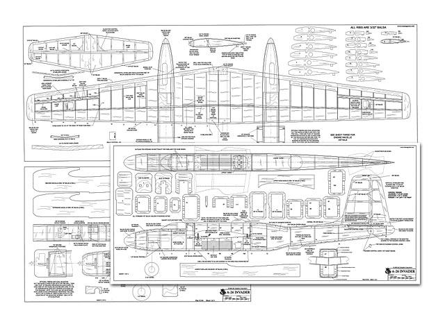 A-26 Invader - plan thumbnail image