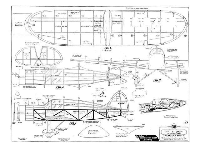 Dart G 207-4 (oz5891) from Hi-Flier 1939