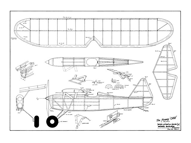 Cavu - Ken Willard - Model Builder - March 1986 - 44in