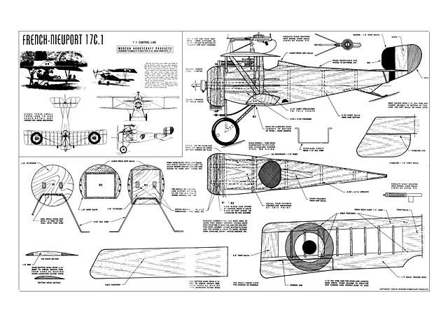 Nieuport 17-C1 (oz5918) from Modern Hobbycraft