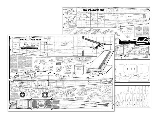 Cessna Skylane 62 - plan thumbnail image