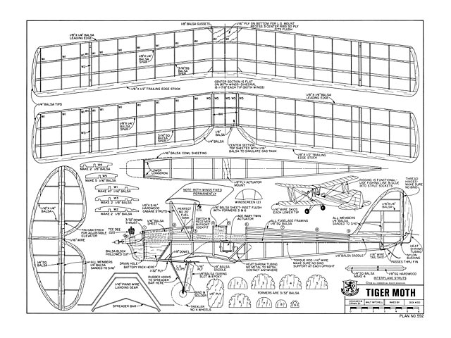 Tiger Moth Plan Free Download Outerzone