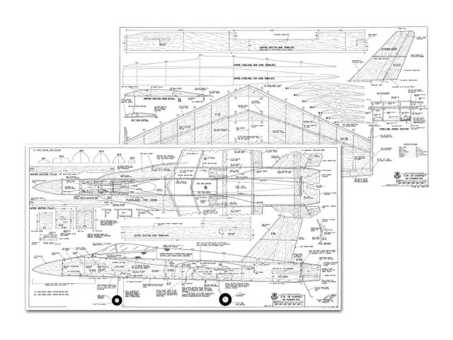F/A-18 Hornet plan - Free download - Outerzone