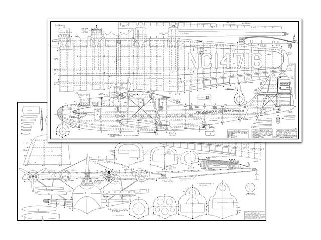 Martin M-130 China Clipper (oz5997) by Jack Lynn Bale