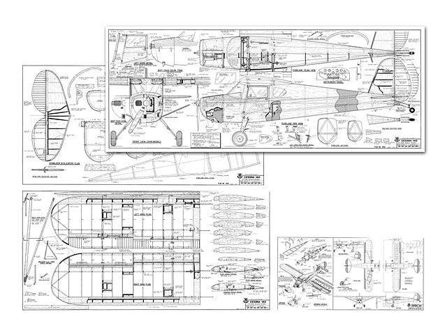 Cessna 140 - plan thumbnail image