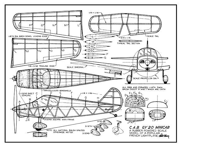 C.A.B. GY 20 Minicab - plan thumbnail image