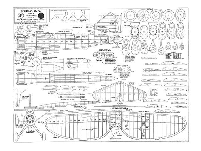 Douglas O-46A - plan thumbnail image