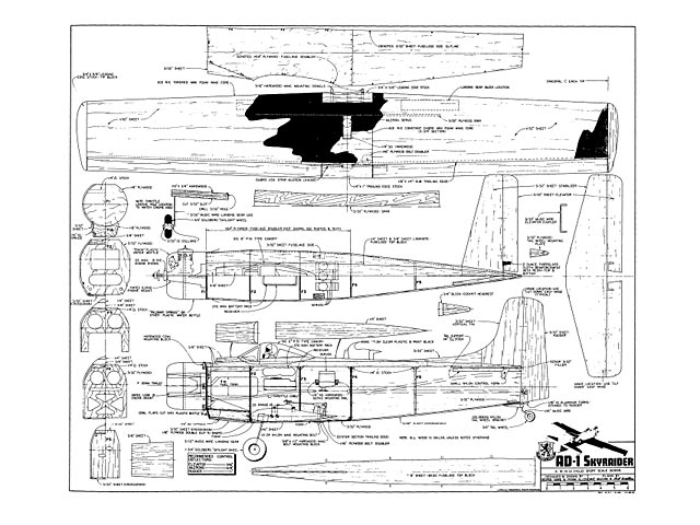 skyraider plan - free download