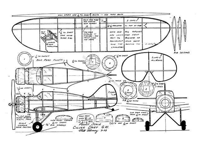 Culver Dart (oz623) by Walt Mooney 1973