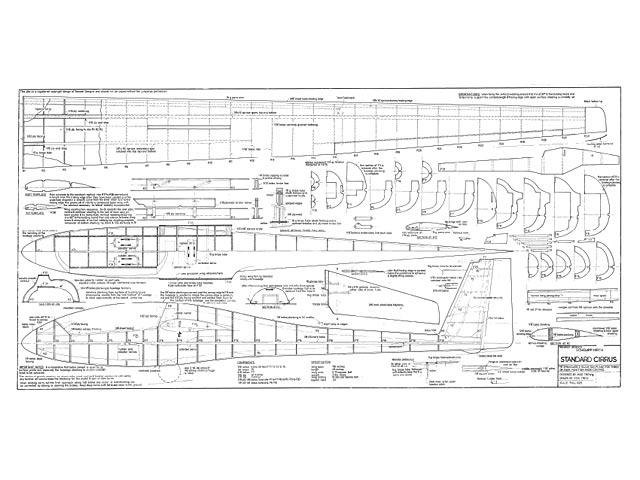 Schempp-Hirth Standard Cirrus (oz6281) by Mike Trew from Trewest Designs