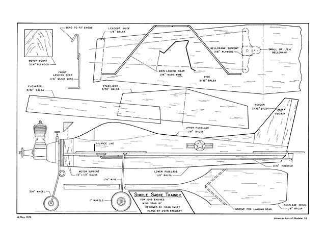 Simple Sabre Trainer - plan thumbnail image