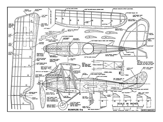Rumpler C-5 - plan thumbnail image