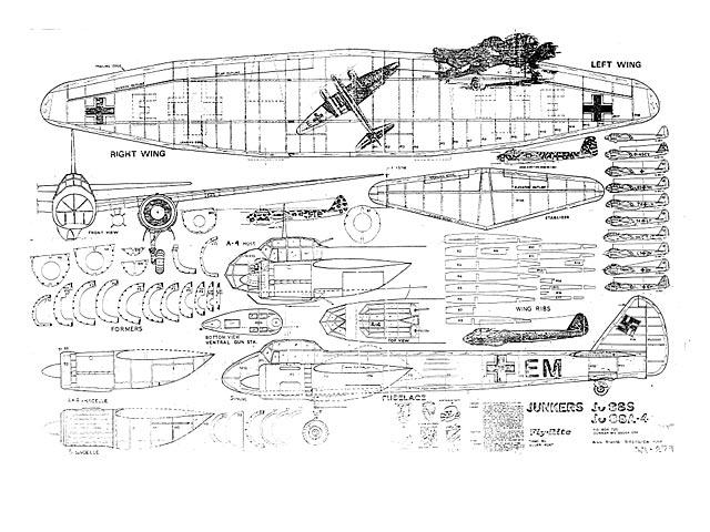 Junkers Ju 88 (oz63) by Allen Hunt from FlyRite